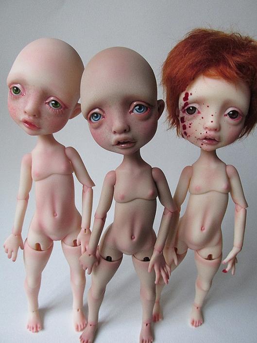 Nefer Kane Circus Dolls
