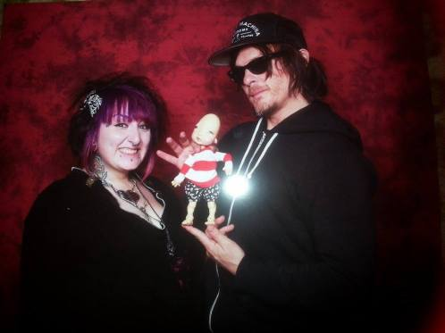 Gen, Norman Reedus and Humpty Dumpty by Nefer Kane